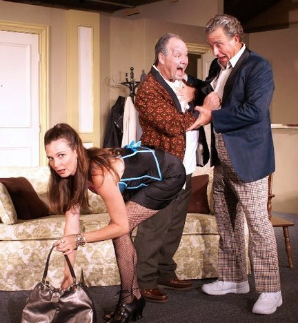 """JPAS-Viagara5"" - A surprises and fun in VIAGARA FALLS! (L to R) Cindy Marinangel, Dane Rhodes and David Jacobs."